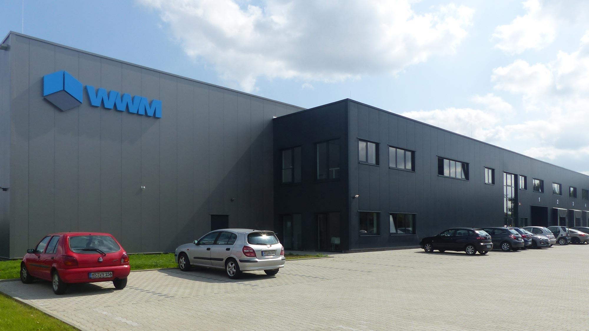 Hochmodernes Logistikcenter der WWM GmbH & Co. KG