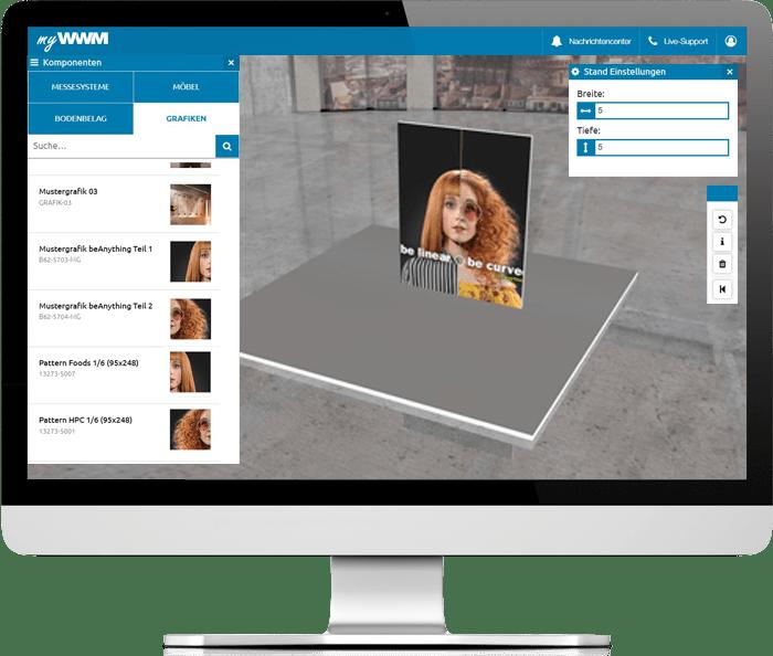 Messedesign in 3D: Gestalten Sie Ihren Messestand
