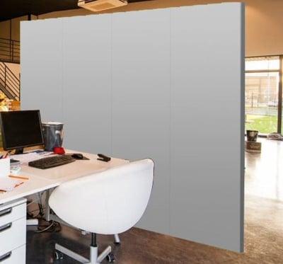 Trennwände in Arbeitsbereichen