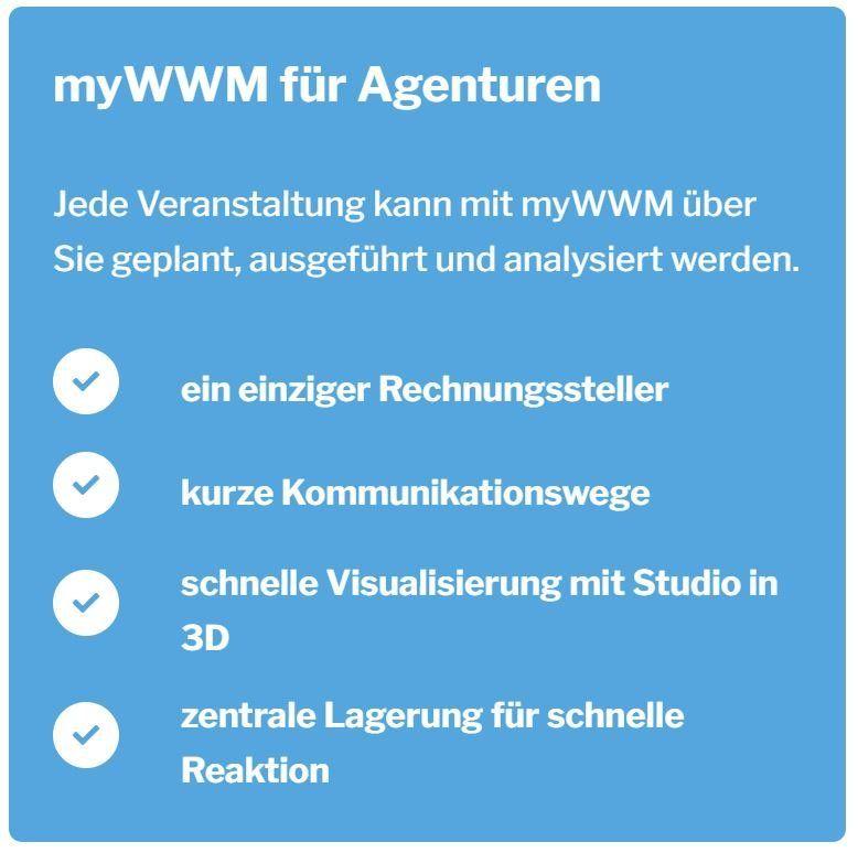 myWWM für Agenturen