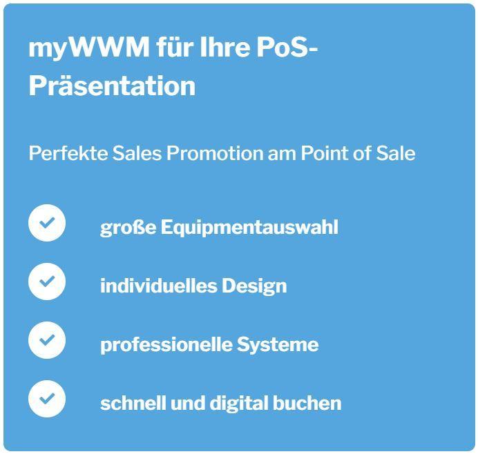 myWWM für Ihre PoS-Präsentation