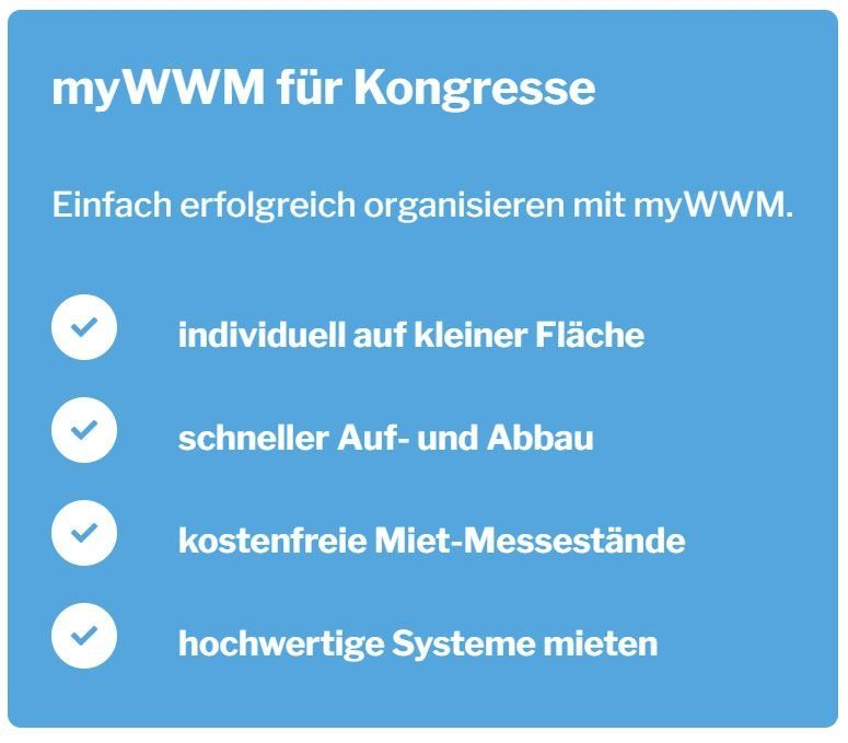 myWWM für Kongresse