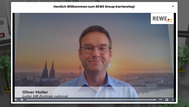 Virtueller Karrieretag - Begrüßungsvideo