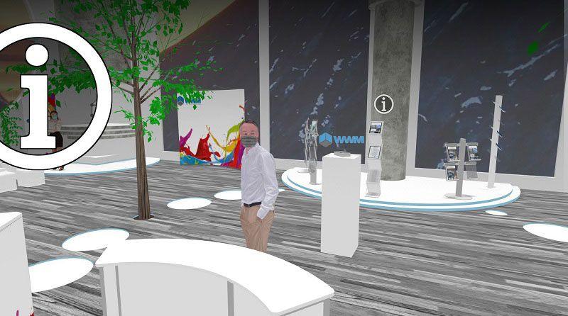 Einbindung von Widgets im virtuellen Showroom