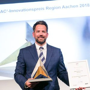WWM Historie AC2 Innovationspreisgewinner 2018