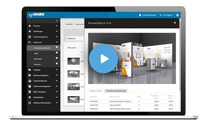 mywWWM Eventmanagement Software Film