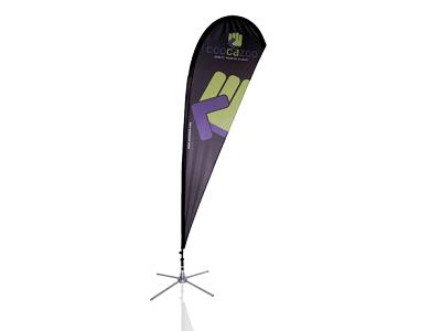 Outdoor Messesystem - OpenSky Beachflag