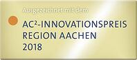 WWM AC2 Innovationspreis Gewinner 2018