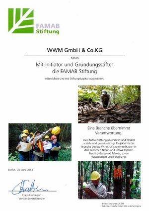 WWM CSR Famab Stiftung Initiator