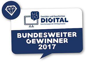 WWM Pressemeldung bundesweiter Gewinner WeDoDigital DIHK 2017
