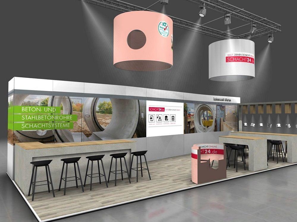 Virtueller Messestand Betonwerk Bieren