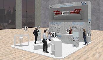 Virtueller Messestand Demo