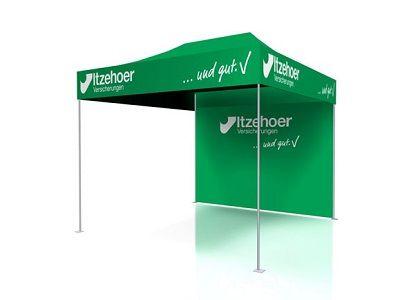Outdoor Messesystem Zelt OpenSky kostenfrei mieten